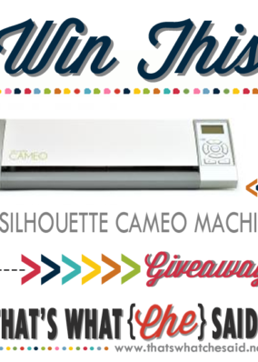 Silhouette Vinyl Bundle Deals + Cameo Giveaway