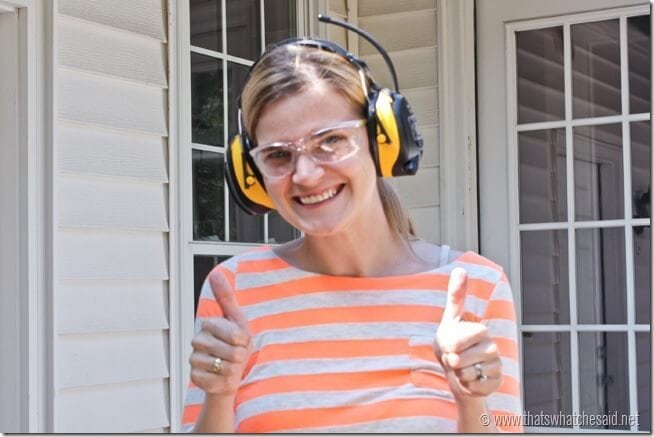 3M Tekk Headphones and Safety Glasses