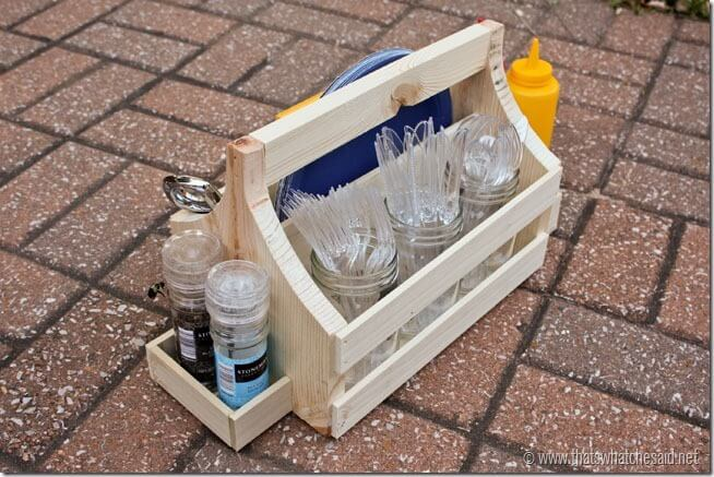 DIY Tailgating Caddy