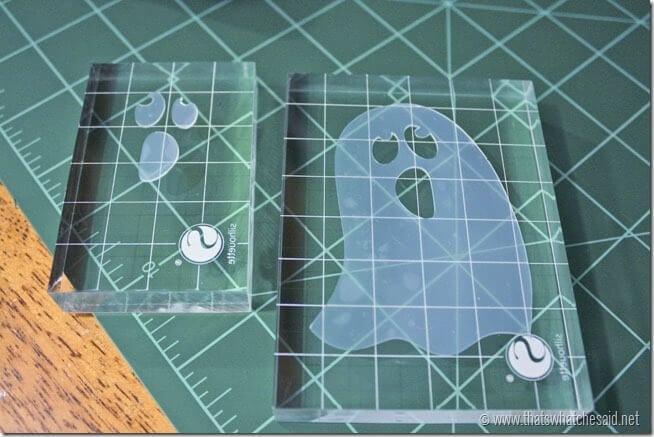 Halloween Treat Bag Stamps