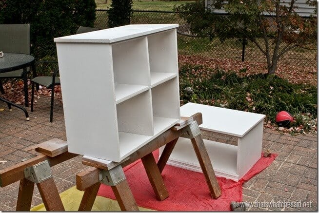 Paint DIY Cubby System