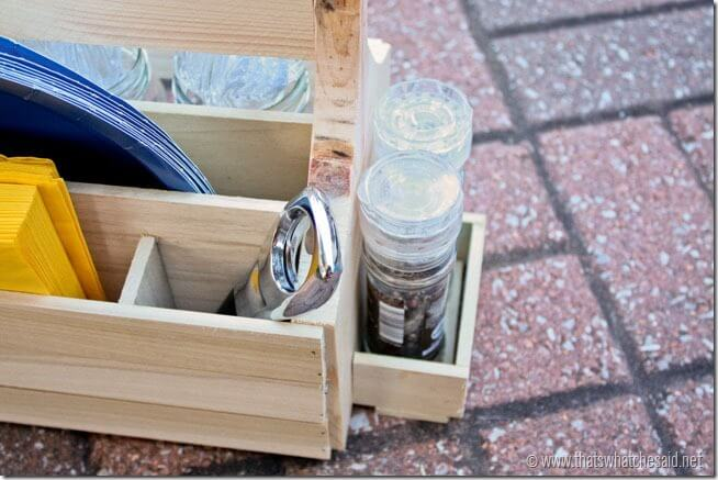 Salt & Pepper Compartment