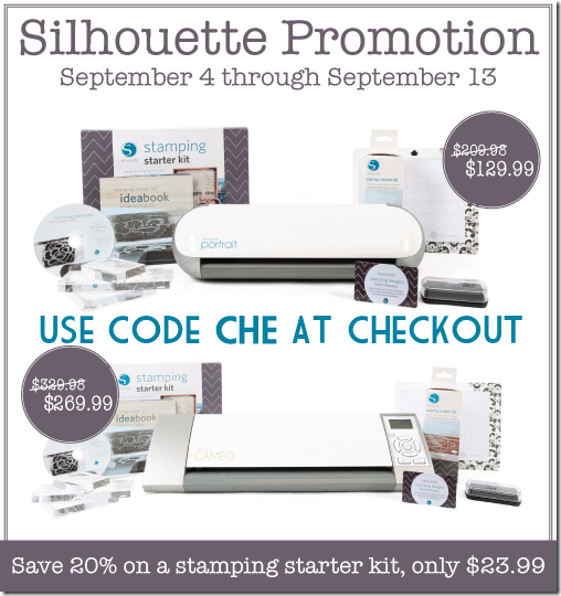 Silhouette Stamp Kit Promotion