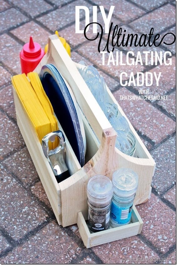 The Ultimate DIY Caddy from thatswhatchesaid.net