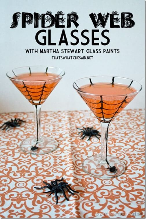 DIY_Halloween_Spider_Web_Glasses_with_thatswhatchesaid.net_
