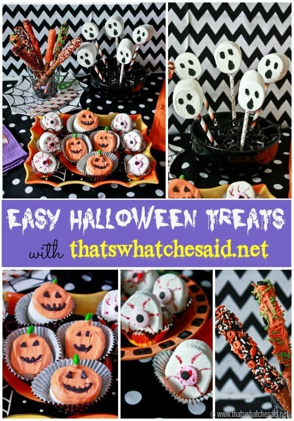 Halloween Treats from thatswhatchesaid.net