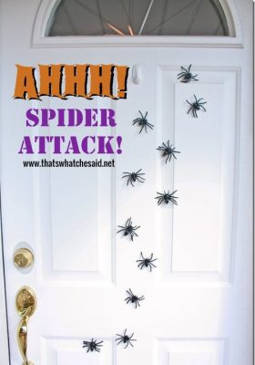 Magnetic_Spider_Attack_Door_Decor_at_thatswhatchesaid.net_