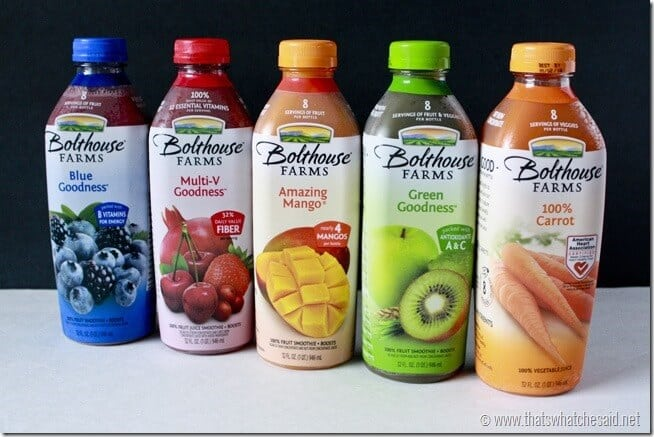 Bolthouse Juice & Juice Blends
