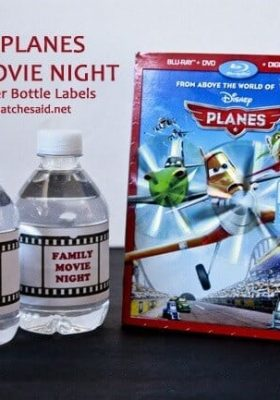 Free Family Movie Night Water Bottle Labels at thatswhatchesaid.net