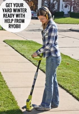 Get your yard ready for Winter with Ryobi at thatswhatchesaid.net