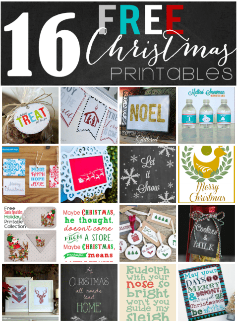 Christmas Printables Blog Hop at thatswhatchesaid.net