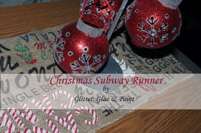 Christmas Subway Runner