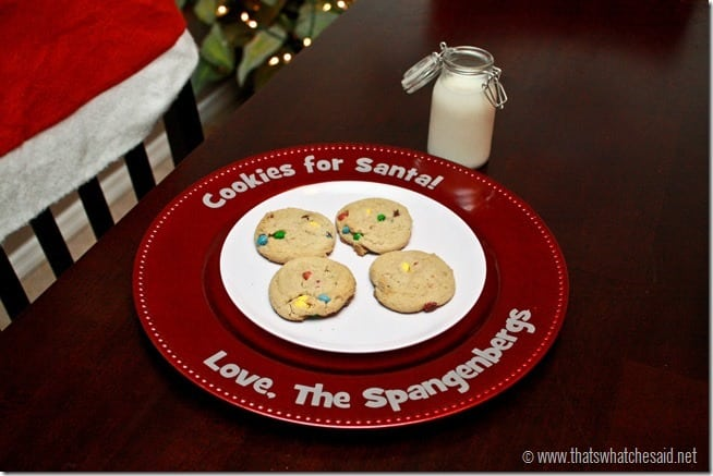 Cookies For Santa Plate at thatswhatchesaid.net_