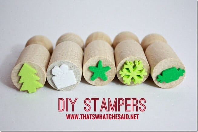 DIY Stamp Set at thatswhatchesaid.net
