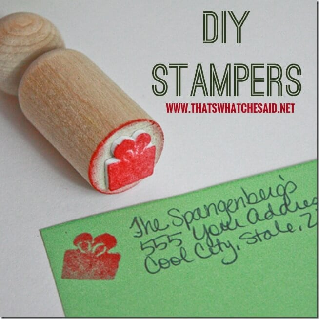 DIY Stamper Set at thatswhatchesaid.net