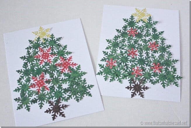 Handmade Holiday Cards at thatswhatchesaid.net