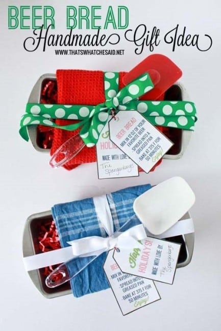 Beer Bread Gift Tags