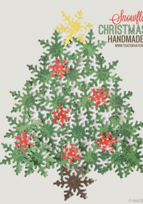 Holiday Handmade Card Idea at thatswhatchesaid.net