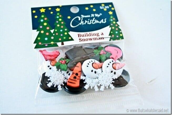How to make a PVC Snowman Ornament