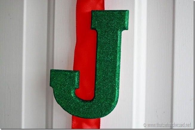 JOY Glitter Hanging 6