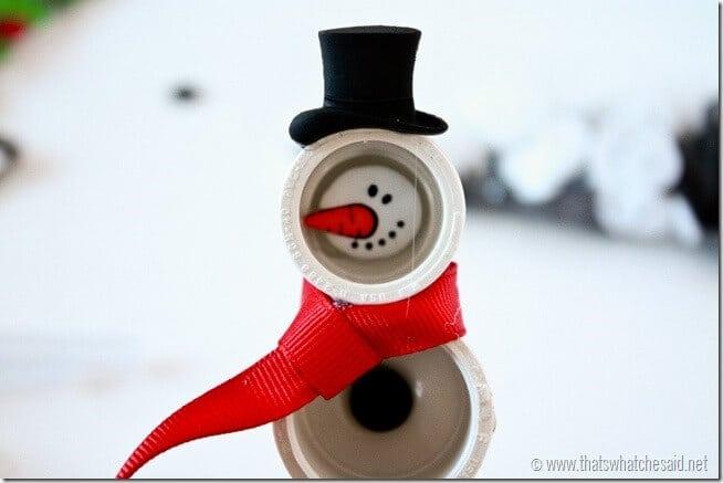 PVC Snowman on thatswhatchesaid.net