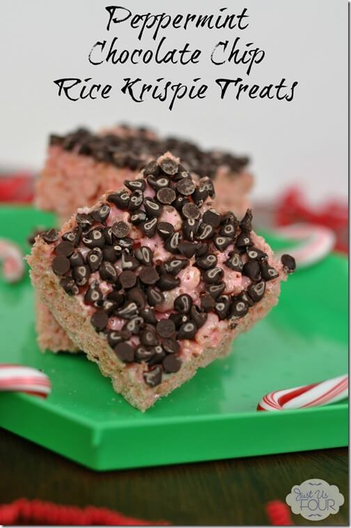 Peppermint Chocolate Chip Rice Krispie Treats Front_wm with label