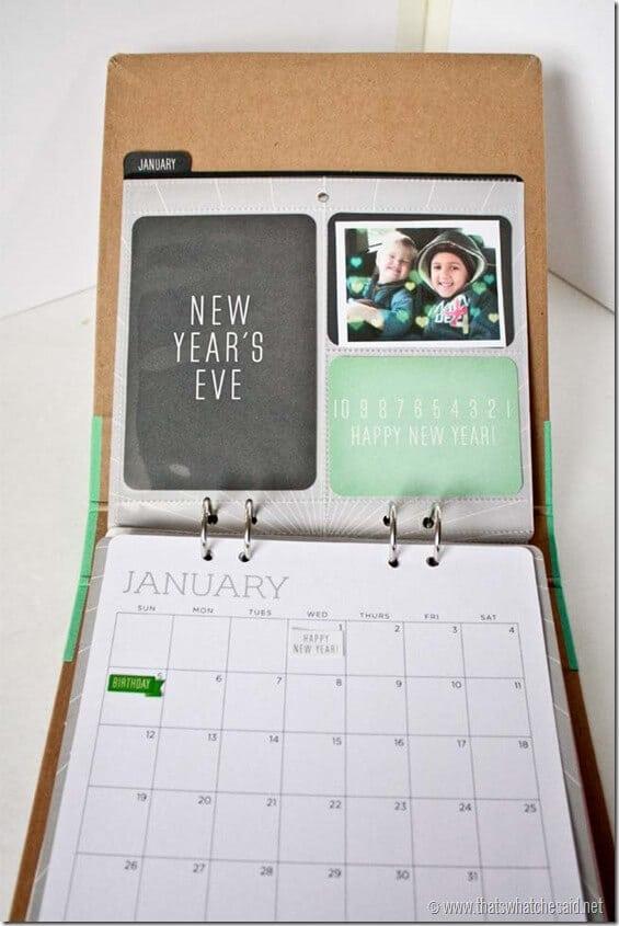 Recollections Calendar Kit4