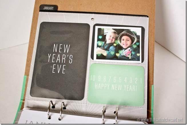 Recollections Calendar Kit5
