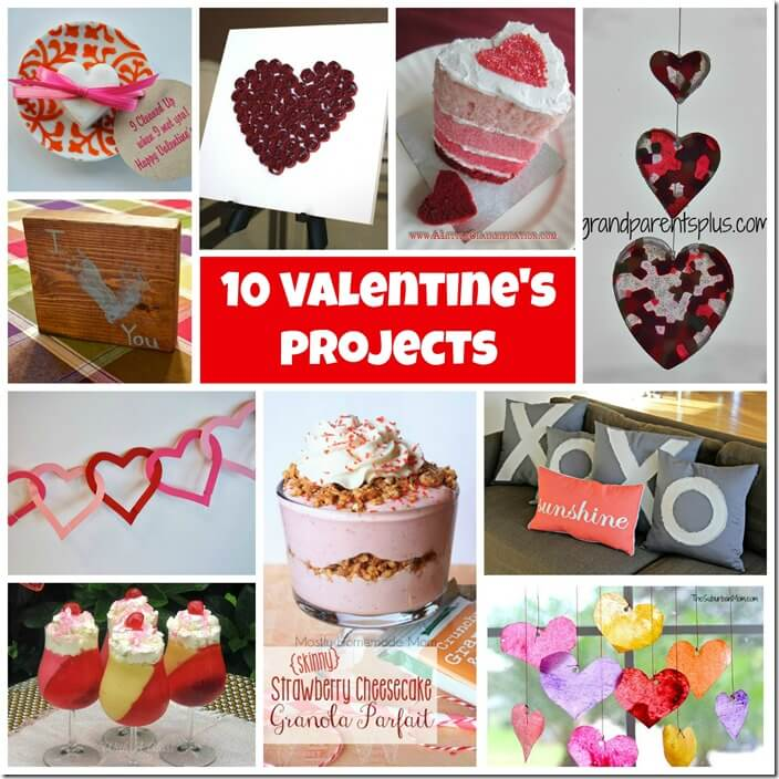 10 Valentine's crafts
