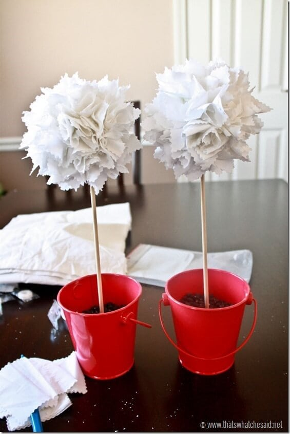 DIY Valentine Topiary Tutorial at www.thatswhatchesid.com