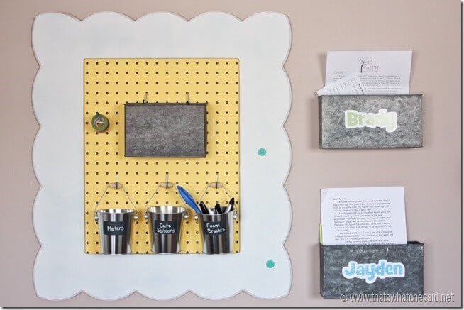 Pegboard Organizational Frame at thatswhatchesaid.net
