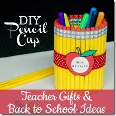 Teacher's Gifts and Back to School Ideas