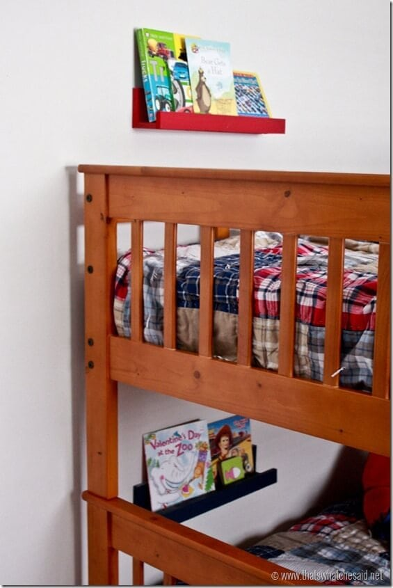 DIY Book Ledge 19