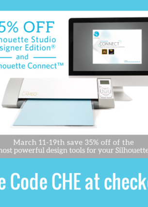 35% off Silhouette Studio® Designer Edition Software & Silhouette Connect™