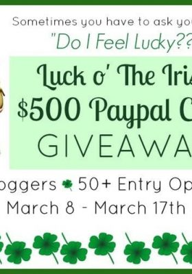 $500 Paypal Cash Giveaway at thatswhatchesaid.net