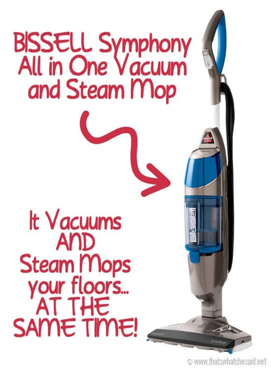 Bissell Symphony Vacuum and Steam Mop in One at thatswhatchesaid.net
