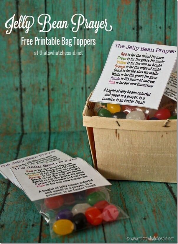 Jelly bean prayer free printable thats what che said jelly bean prayer free printable negle Gallery