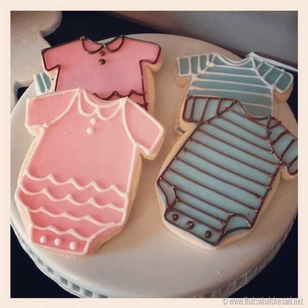 Onesie Cookies at thatswhatchesaid.net