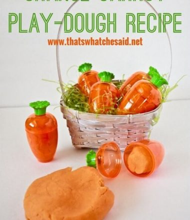 Play Dough Recipe at thatswhatchesaid.net