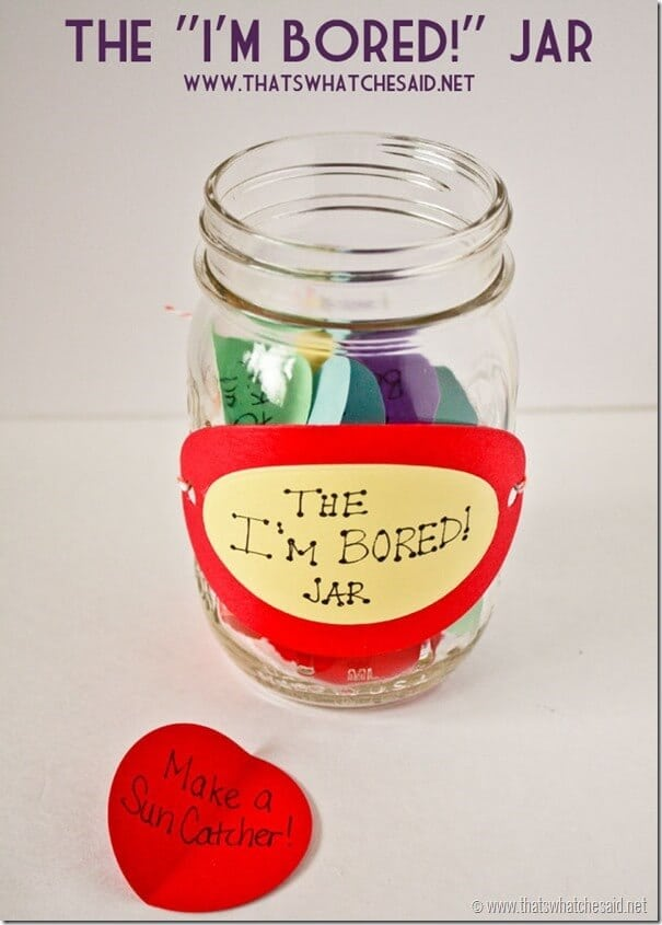 The Im Bored Jar at thatswhatchesaid.net