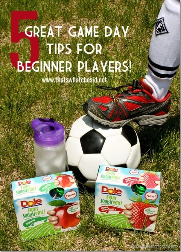 5 Great Game Day Tips at thatswhatchesaid.net