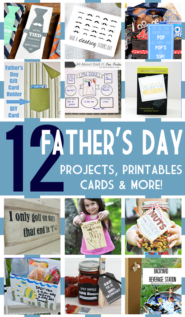 12 AMAZING Fathers day Ideas