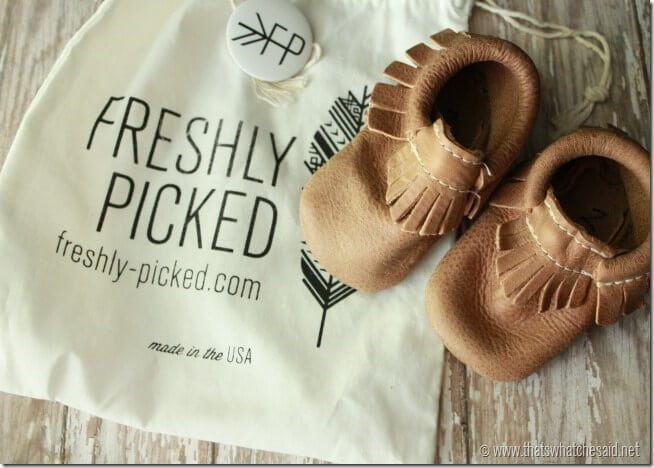 Freshly Picked Moccasins