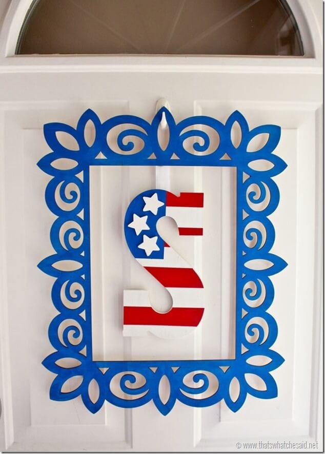 Patriotic Monogram8