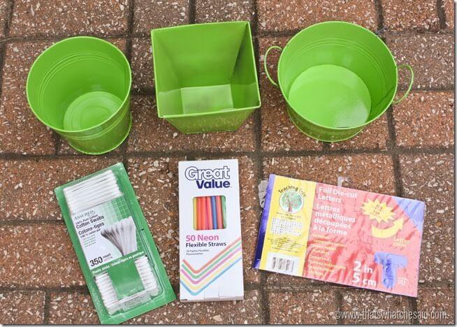 Q-Tip Dart Game Supplies
