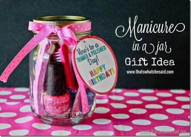 Handmade Gifts in Jars at thatswhatchesaid.com