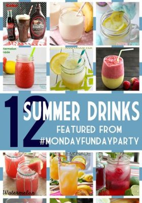 12 Summer Drink Recipes at thatswhatchesaid.com