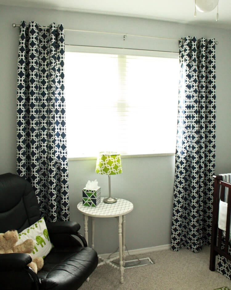 DIY Curtain Panels tutorial at thatswhatchesaid.com