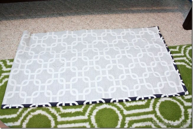 Easy Box Pleat Crib Skirt