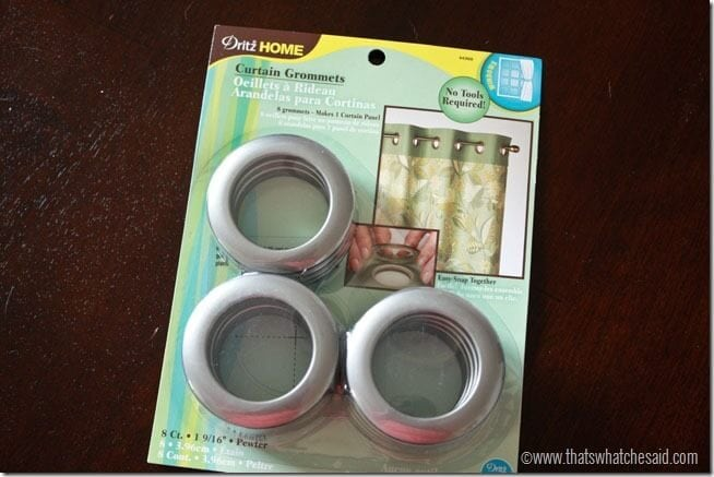 Grommet Top Curtain Panels 9